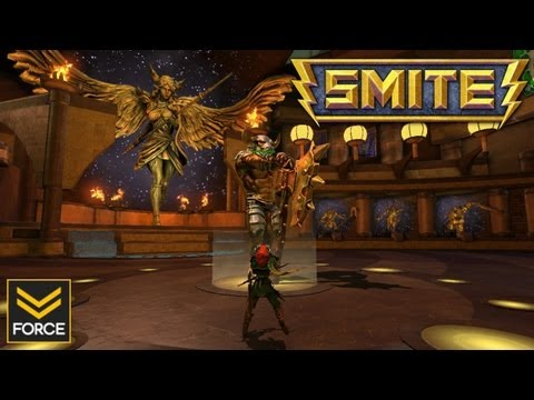 SMITE Beta: Full Match - Quick Look (Gameplay)