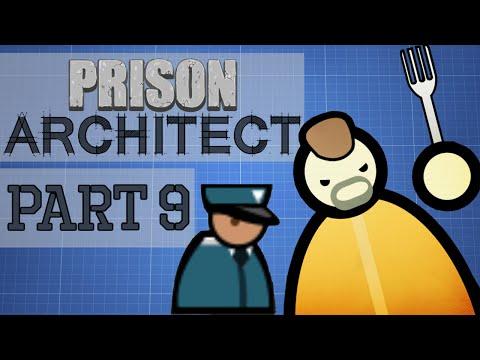 Prison Architect - Part 9 - MUCH NEEDED SHAKEDOWN