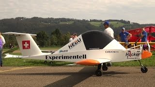 SCALE 1:1 R/C MODEL Cri Cri Worlds smallest twin ENGINE AIRCRAFT EXPERIMENTAL