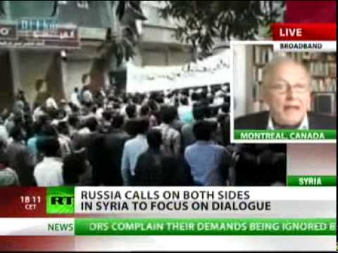 Chossudovsky: Military Intervention in Syria Will Lead to Extended War