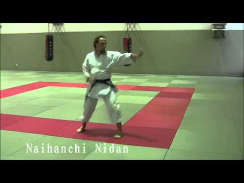 Naihanchi Shodan, Nidan and Sandan - Ryukyu Shorin Ryu Karate Do Tesshinkan Image 1
