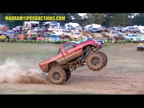 MEGA TRUCK POWER WHEELIE!!  HORSEPOWER IS AWESOME