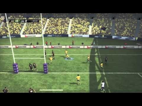 New Rugby Challenge 2 Full Gameplay (Full Match) Wallabies vs All Blacks