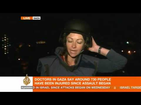 Al Jazeera's Nicole Johnston Reports Live From Gaza On The Possible Ceasefire