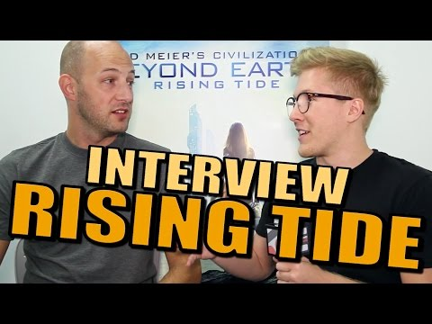 Civilization: Beyond Earth - Rising Tide Interview [Gameplay]