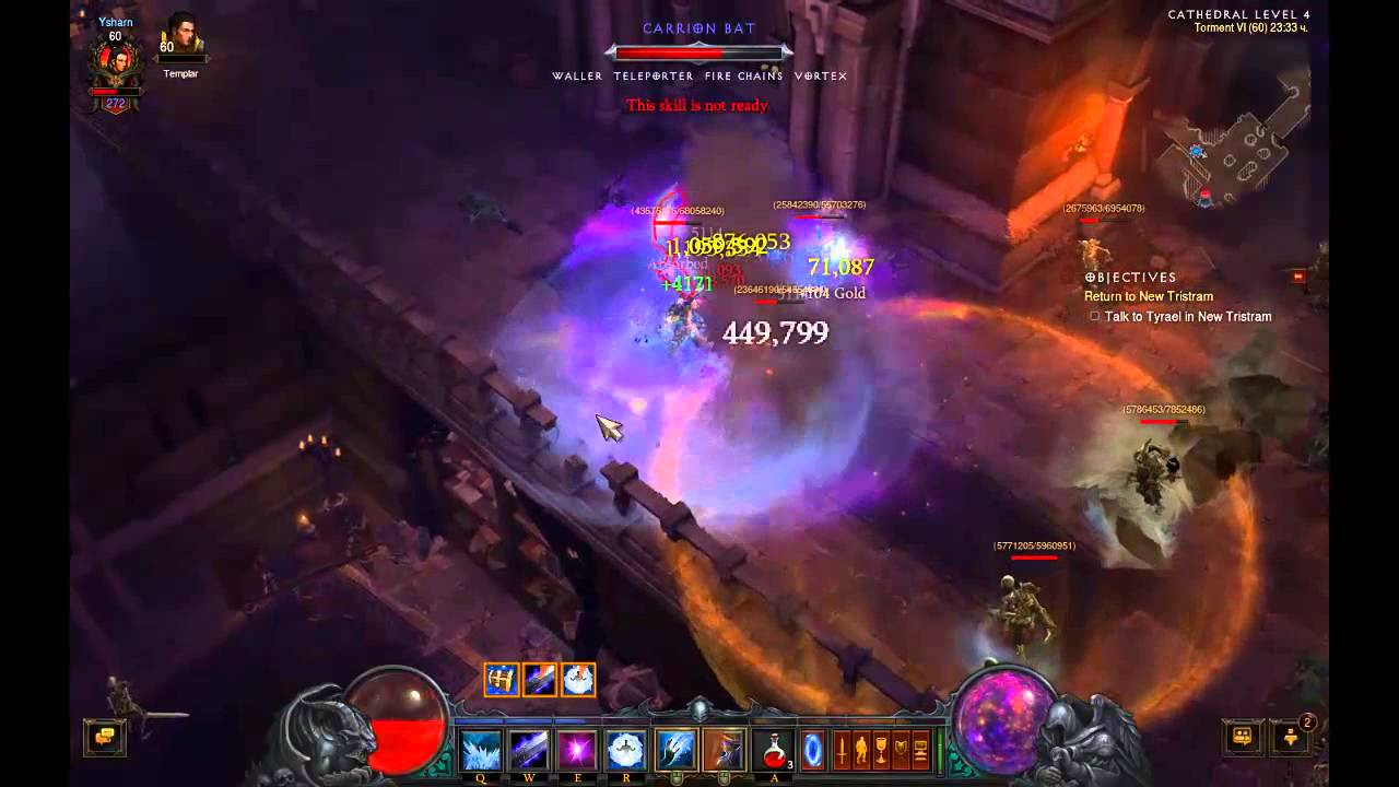 Diablo  Wizard Torment Build
