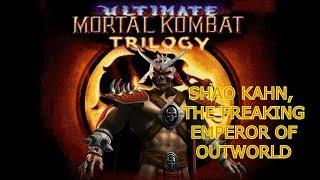 TheDarkAce Plays: Ultimate Mortal Kombat Trilogy (Genesis Hack) Shao Kahn