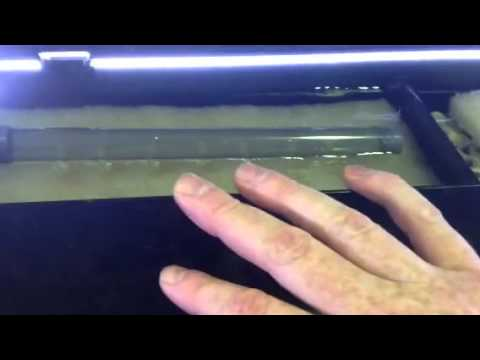 How to stop aqua one aquarium top filters from leaking! - YouTube