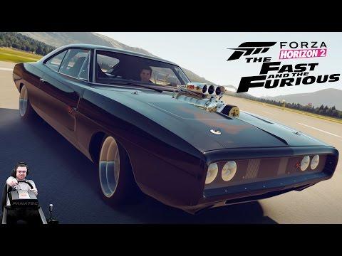 Dodge Charger R/T против боинга - финал Forza Horizon 2 Presents Fast & Furious