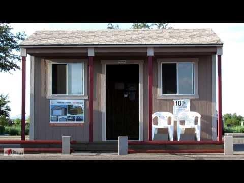 Tiny Home Living Idea ~ Tuff Shed