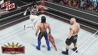WWE Top 10 WrestleMania 35 Predictions! (WWE 2K19)