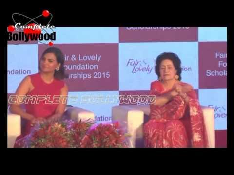 Lara Dutta Felicitates 200 Women On Behalf of 'Fair & Lovely Foundation Scholarships 2015'