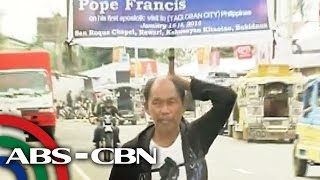Lalaki naglakad nang 36 araw para makita si Pope Francis