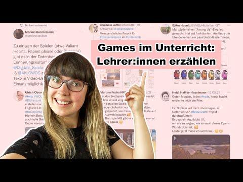 Spiele im Unterricht: Lehrer:innen teilen ihre Ideen und Erfahrungen | Games | Digitale Bildung