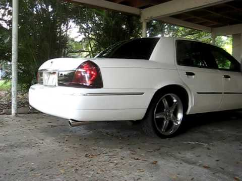 2000 Grand Marquis with flowmasters