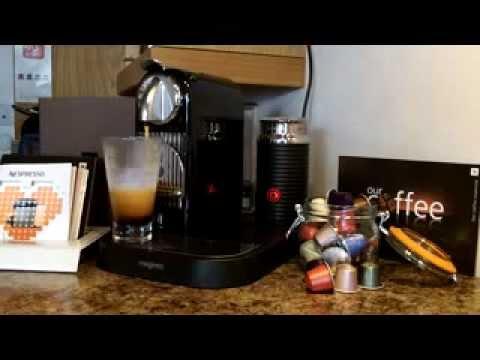 magimix nespresso citiz milk coffee machine 11300 demo youtube. Black Bedroom Furniture Sets. Home Design Ideas