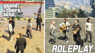 GTA V FiveM #4 - TAAKSTRAF VOOR BOB EN MUZIEK MAKEN! (Roleplay)