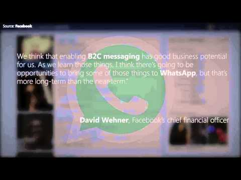 Facebook may soon allow B2C interactions on WhatsApp