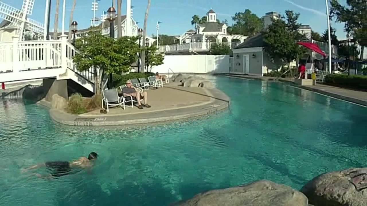 Disneys Yacht Amp Beach Club Resort Stormalong Bay POV Pool