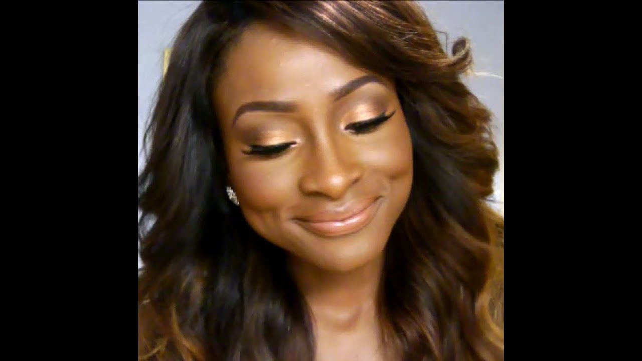Bridal Makeup Tutorial For Dark Skin : My Everyday Makeup Look(Beginner/Bridal Makeup) REQUESTED ...