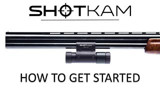 ShotKam Tutorial (2019), Step 1: How to Get Started