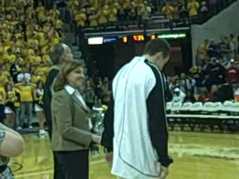 Missouri Tigers Senior Night Ceremony Video
