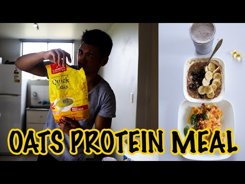 How to make the OATS PROTEIN MEAL