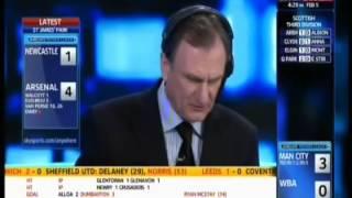 Newcastle United 4 4 Arsenal  5 2 11 Soccer Saturday