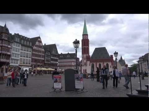 Frankfurt am main Hessen germany  city tour