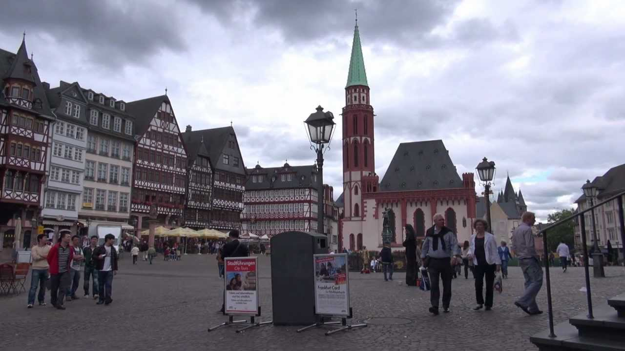 frankfurt am main hessen germany city tour youtube. Black Bedroom Furniture Sets. Home Design Ideas