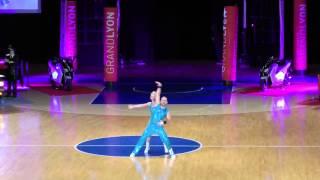Jeanette Uhl & Mario Bludau - World Masters Lyon 2015