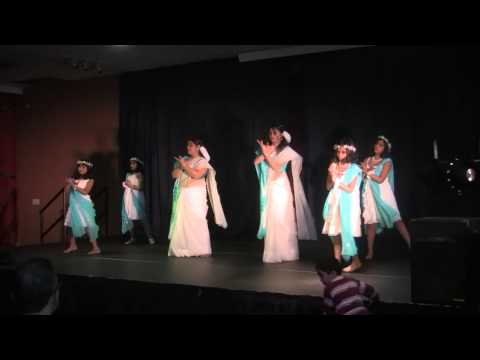 Group dance: Megher Palok Chander Nolok ( Proma Dora Mousumi...