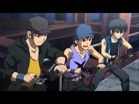 Metal Fight Beyblade Episode 01 English Dubbed Part (2/2)