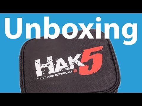 Hak5 Essentials Field Kit   Unboxing. Overview