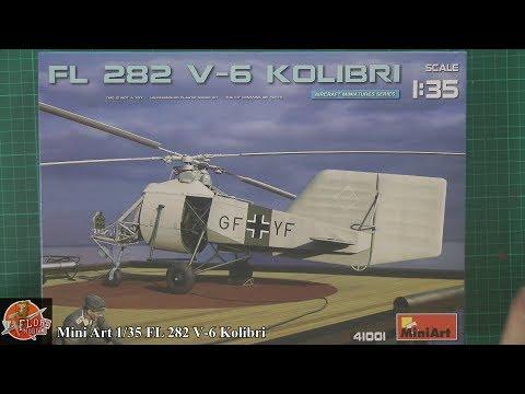 Mini Art 1/35 FL-282 Kolibri review