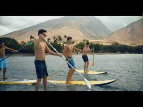 Big Time Rush & Cimorelli- Windows Down video