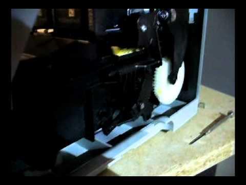 HP C5280 Impresora correcta funcion de carro