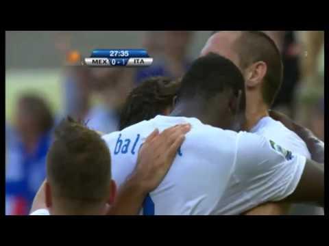 Mexico vs Italia 2 - 1 Goles Copa Confederaciones 2013 Rumbo a Brasil 2014 (16-6-2013)