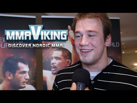 Viktor Pesta UFC Berlin Pre Fight Interview