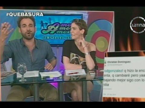 Peluchín y Christian Dominguez se pelean tras destape