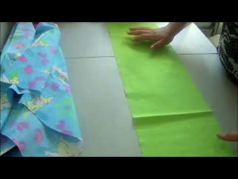 Como coser una funda para almohada parte 1