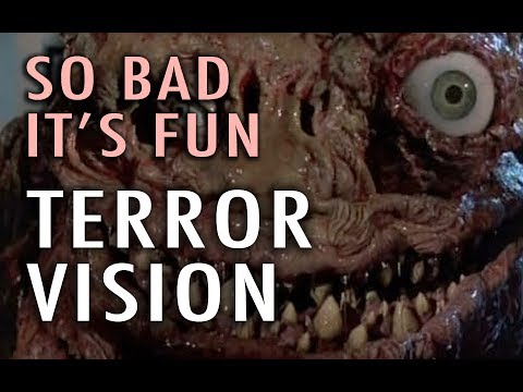 When you talk about 'so bad it's fun', there is no way you can forget TerrorVision. In this 1986 horror comedy by Ted Nicolaou (and produced by Charles Band), a giant monster from space, with...