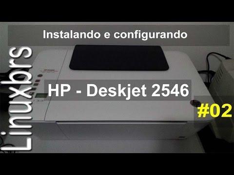 Impressora HP Deskjet 2546 - Instalando e configurando - WI-FI - PT-BR - Brasil