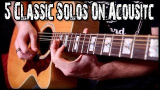 Download Lagu 5 Classic Solos On Acoustic Gratis STAFABAND