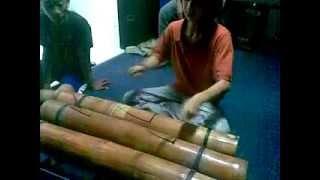 Download Lagu Kendang bambu - bamboo percussion Gratis STAFABAND
