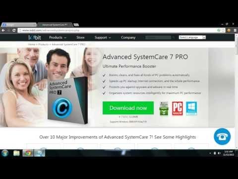 Advanced SystemCare 7.0 Pro License Key + Crack