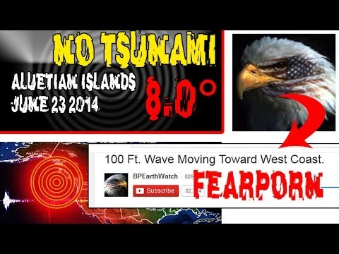 Alaska Quake - No Tsunami - Let's Stop The Fear-porn! video