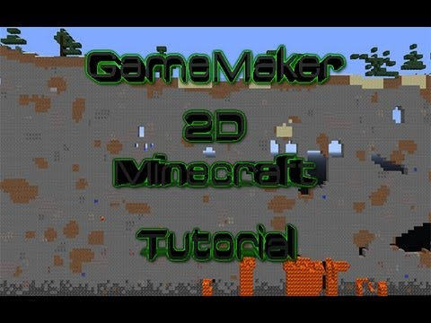 how to make a 2d minecraft game on scratch