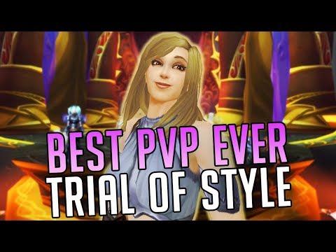 BEST PvP IN LEGION: TRIAL OF STYLE ft. Scruffy [World of Warcraft: Legion 7.2.5]