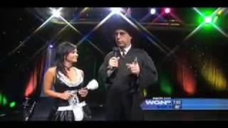 Skip Parker's Halloween with Denise Milani!!!